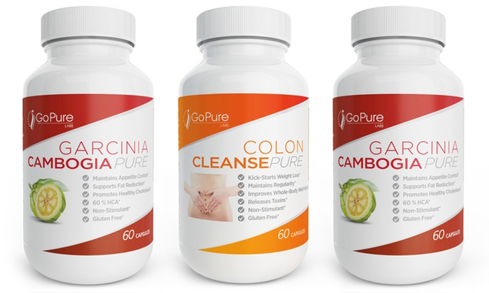 Up To 87 Off On Go Pure Labs Garcinia Cambogi Groupon Goods
