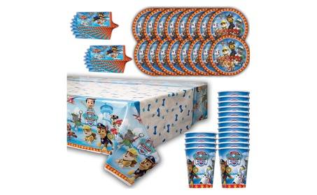 Paw Patroll Party for 16 - Plates, Cups, Napkins, Table Cover NEW 66cc9abb-fc88-446d-b738-fbc9221a9ef9