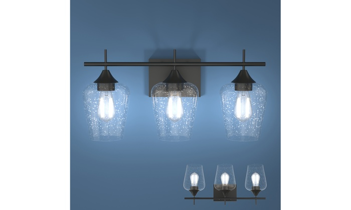 Up To 47 Off On Costway 3 Light Wall Sconce M Groupon Goods
