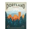 Anderson Design Group 'Portland' Canvas Art