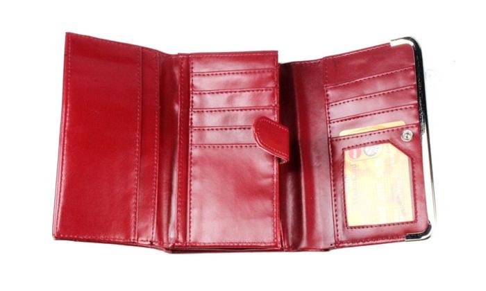 Womens Lady Wallet Handbag Clutch Zip Card PU Leather Fashion Purse