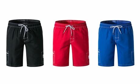 Men's Beachwear Board Shorts Swim Trunks Long Beach Shorts Quick Dry Shorts