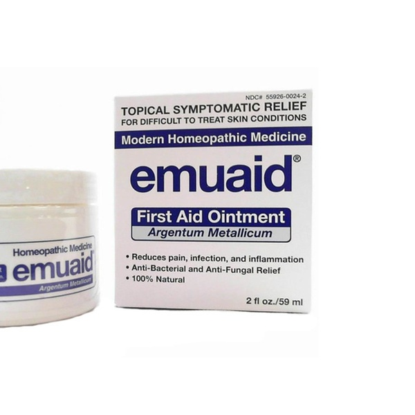 Emuaid Emuaid Natural First Aid Ointment 2oz Fights Infection Eczema