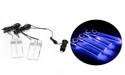 12V - 4 LED Car Interior floor Lights