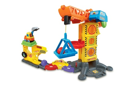VTech Go! Go! Smart Wheels Learning Zone Construction Site ec00b39f-fa6a-4070-9cd3-4e9bc3c938cd