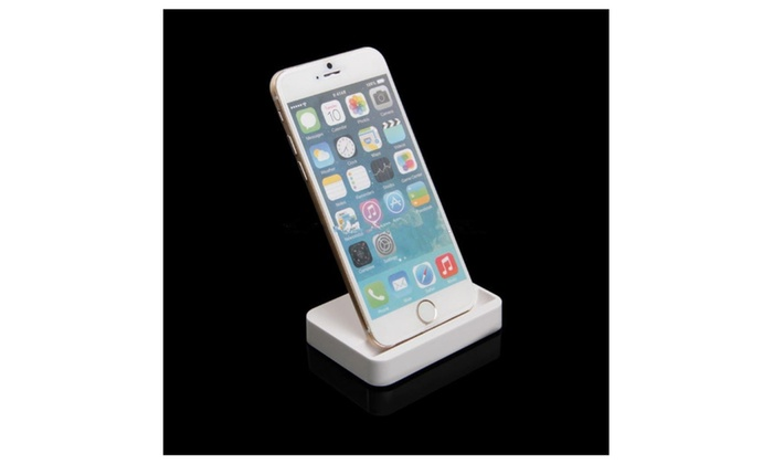 buy online d588d 54546 iPhone 6 & 5 Charger Docking Station Cradle Charging Sync Dock
