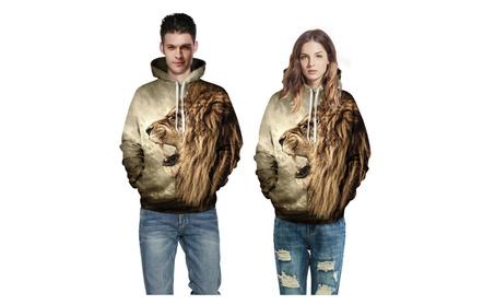 Unisex 3D Digital Print Sweatshirts Hooded Tiger Printed Hoodie af5fa897-2e47-4c9c-ba0b-22e5151fe710