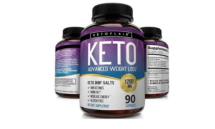 Best Keto Diet Pills 1200mg 90 Capsules Advanced Weight Loss Ketosis Supplement