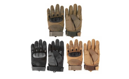 Military Tactical Outdoor Hard Knuckle Full Finger Gloves 3357f73d-58b4-49b7-9bed-56bd92cb588a