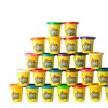 Kiddy Dough 24 Pack of Color Dough – Mega Modeling & Sculpting Playset