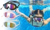 Adult No Leaking Anti Fog Wide Vision Swim Goggles for Men Women Youth