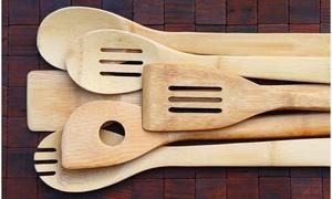 Bamboo Kitchen Utensil Set (6-Piece)