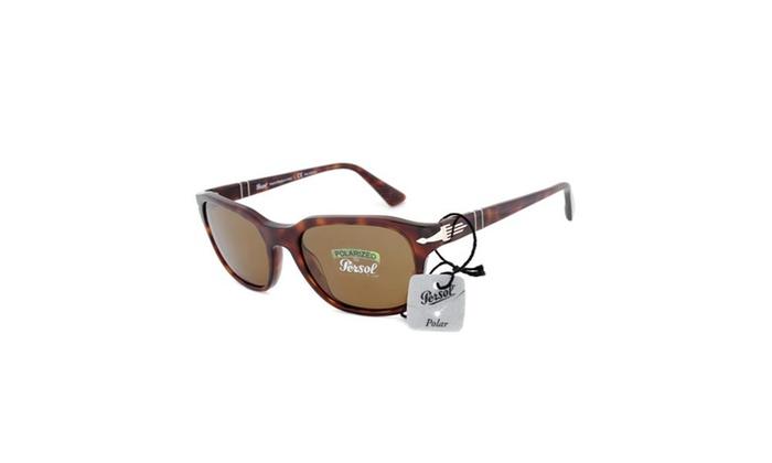 Sunglasses PO3112S 24/57 – Havana Frame – Brown Polarized Lens