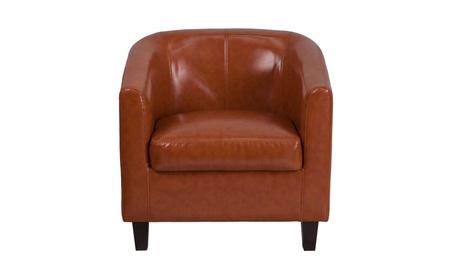 Flash Furniture Cognac Leather Lounge Chair e2e6ef52-2e53-4a13-b931-1006e625ff69