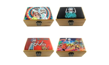 Rick and Morty Herb Grinder Box Set