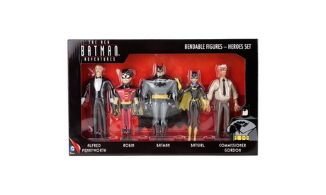 "TNBA ""Heroes"" 5-Piece Bendable Boxed Set 454fa5cf-f25a-4400-b791-fe9588bb4e6b"