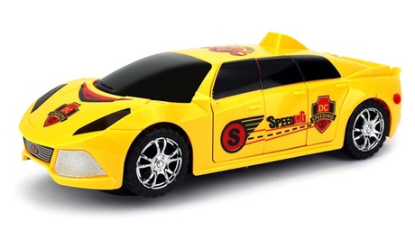 Perfect 3D Supercar Limo Battery Operated Bump and Go Toy Car w/ Flashing Lights a09993eb-6a90-455c-b238-5339c9a80756