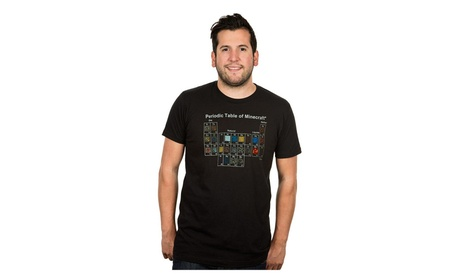 Justee Jinx Minecraft Periodic Table T-Shirt 6653e7e2-9295-4474-a036-ab2b34995112
