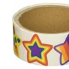 Star Roll Stickers 100 stickers per roll (2 pack)