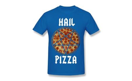 Hail Pizza T-shirt Royal Blue T-shirt For Men a4178a48-4aab-4f4c-ae22-eaa23e6013fe