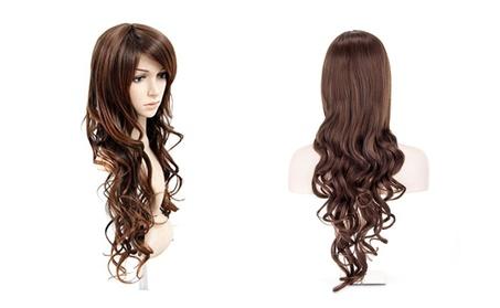 New Womens Long Wavy Curly Fashion Hair Wigs 69a6ceb6-3d78-4b59-baa3-b75c4cbf623a