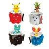 4PCS Bounce Pokemon Pokeball toy gift for child