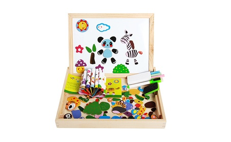 Toys Educational Magnetic Puzzle Farm Jungle Animal Kids Blackboard 69cfd7cb-394c-45e9-af37-b03489fe8583