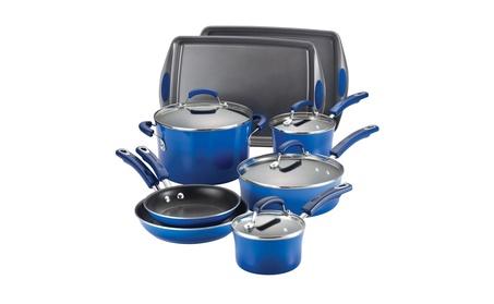 Rachael Ray Nonstick 12-Piece Cookware Set 85af5f94-ece6-4ebc-bcd8-4a292d815337