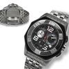 Balmer Chronograph Aventador Mens Watch Silver/Black