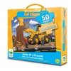 The Learning Journey 439081 Jumbo Dirt Digger Floor Puzzle