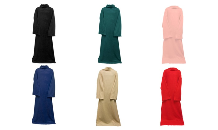 Colorful Cozy Body Robe Blanket
