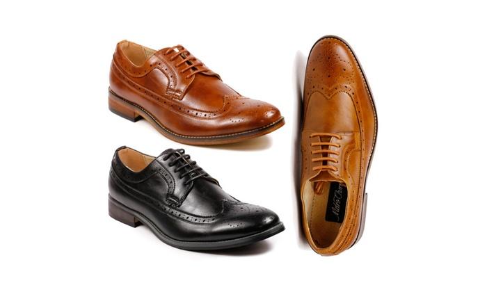 les les les hommes de bout d'aile metrocharm mc dentelle oxford chaussures | groupon f744aa