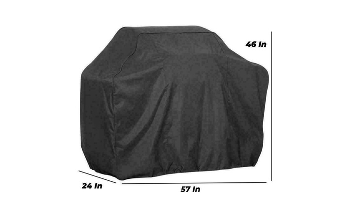 """57/"""" BBQ Gas Grill Cover Barbecue Waterproof Outdoor Heavy Duty Protection New"""