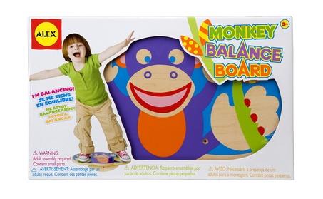 ALEX Toys Active Play Monkey Balance Board 0e668a0b-c21e-44f6-a851-453c64c82281