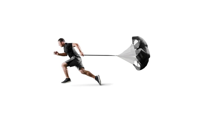 56 Speed Training Parachute Running Chute Football Exercise