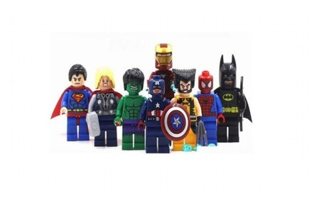 Lot of 8 sets Super Heroes Spiderman Superman Building blocks Toys d3c86876-7126-4c73-9c97-1dab9ee032dc