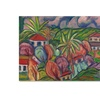 Manor Shadian 'Houses with Round Trees' Canvas Art