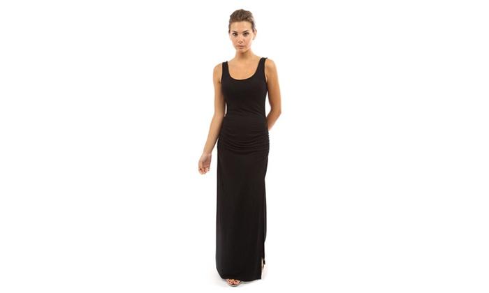 SHH Women's Sleeveless Summer Maxi Dress