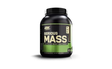 Optimum Nutrition Serious Mass Weight Gainer Protein Powder, Chocolate