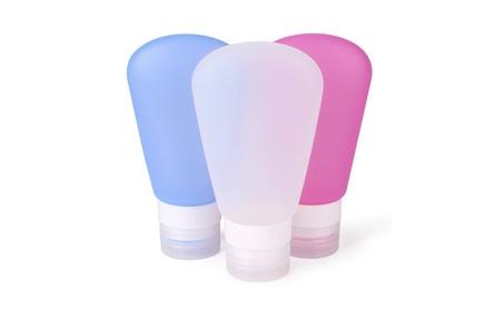 Portable Soft Silicone Travel Bottles Set (3 pack) 803ccc30-79ed-4b76-9020-c082747b62bf