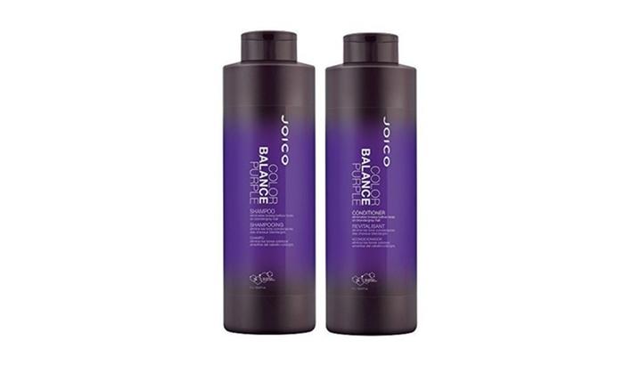 Joico Color Balance Purple Shampoo and Conditioner 33 8 oz Duo