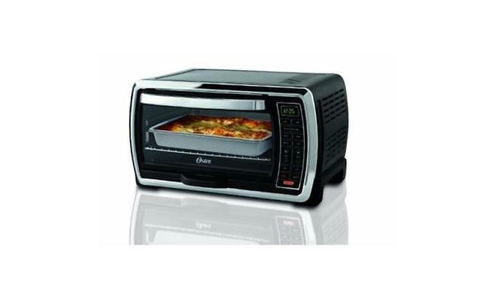 3 Rack Positions Multifunctions Stainless Steel Toshiba Convection Toaster Oven