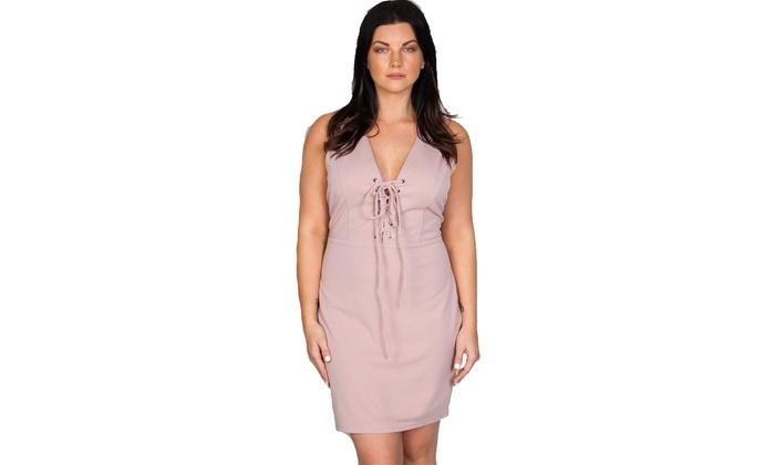 Up To 55% Off on Ladies fashion plus size v ne... | Groupon Goods