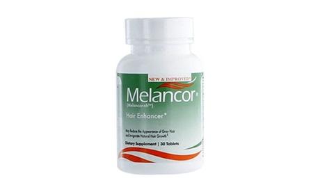 Melancor Hair Vitamin Stop Gray Hair, Reduce Premature white Hair for men women