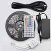 Colorful LED Light Strip with Adapter & Remote Control
