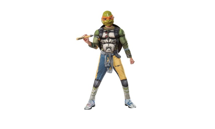 TMNT2: Michelangelo Deluxe Movie Version Child Costume