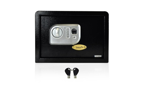 Pyle Audio - Home A-V SLSFE24FP Fingerprint Safe Box