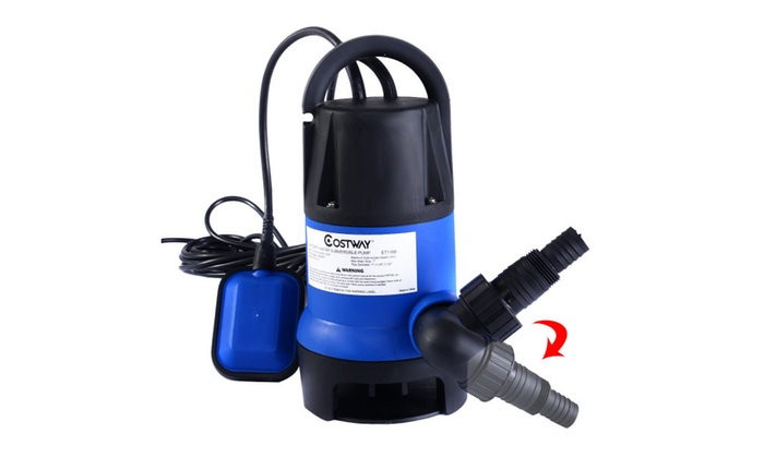 1 2hp submersible dirty clean water pump flooding swimming - How to clean a dirty swimming pool ...