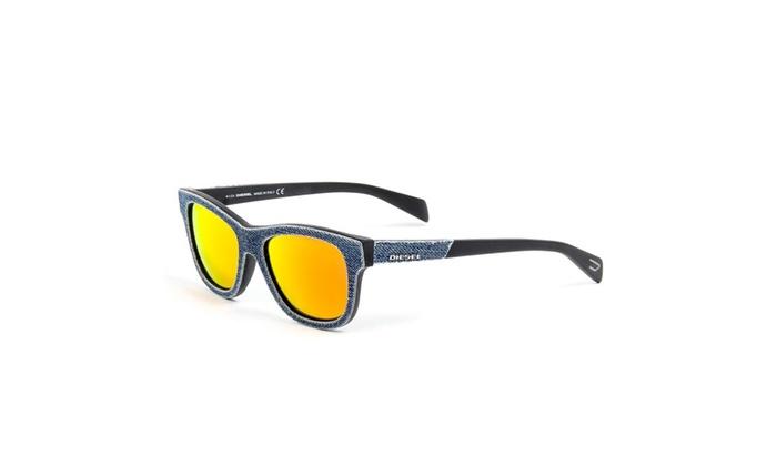 Diesel Mens Denim Sunglasses DL0111 52 90U