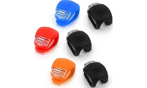 LED Silicone Bike Lights (2-Pack)